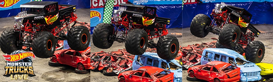 News Hot Wheels Monster Trucks Live Announces Tour Stop At Cure Insurance Arena December 27 29 Cure Insurance Arena