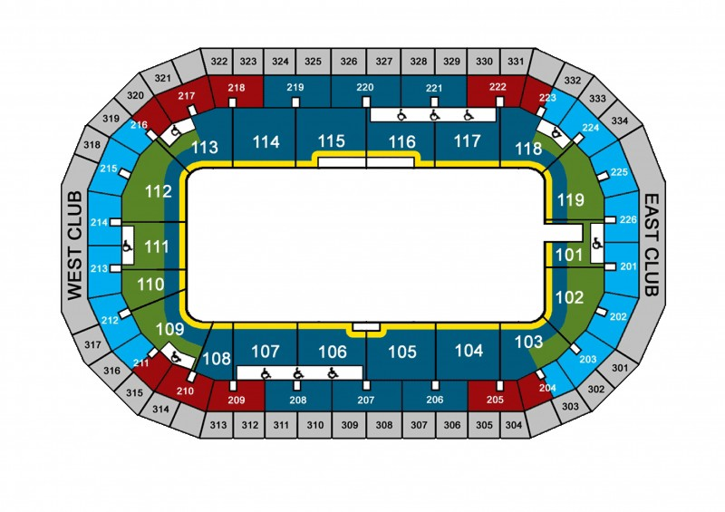 Suites Seating Chart