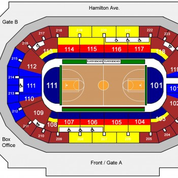 Harlem Globetrotters seating chart
