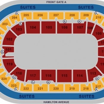 General Seating chart