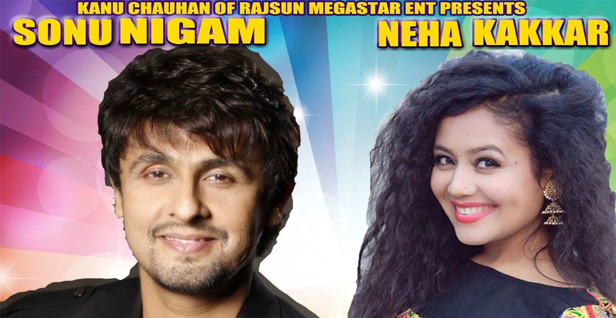 Sonu Nigam with Neha Kakkar