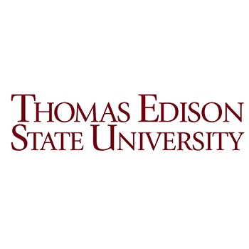 Thomas Edison State University logo.